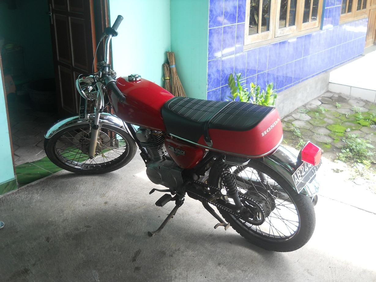 Make Over Honda Gl 100 Menjadi Cb Blar Blar 5osial S Blog