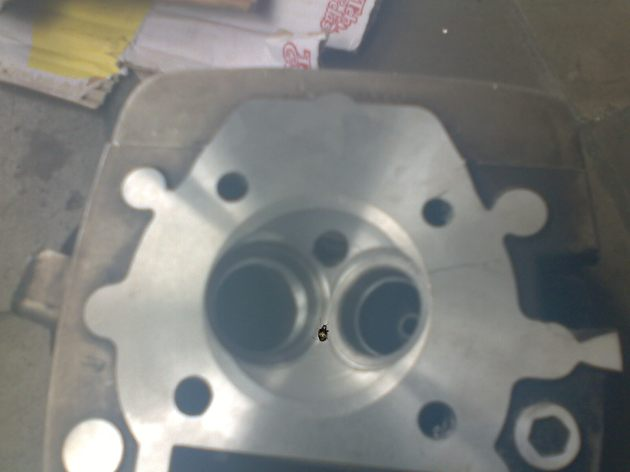 pasang sitting baru, guide valve baru, bikin ulang kubah bakar dan kepras....licin bos