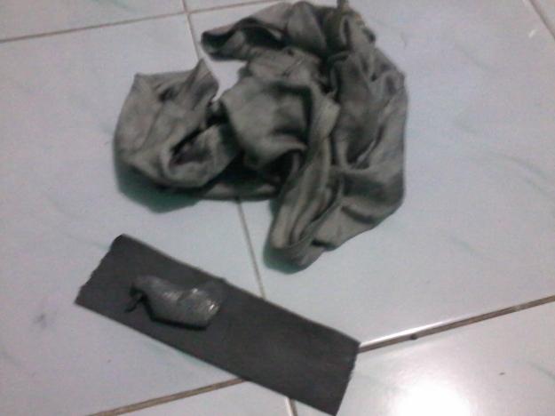 peralatan yang dibutuhkan cukup amplas dan kain lap/majun