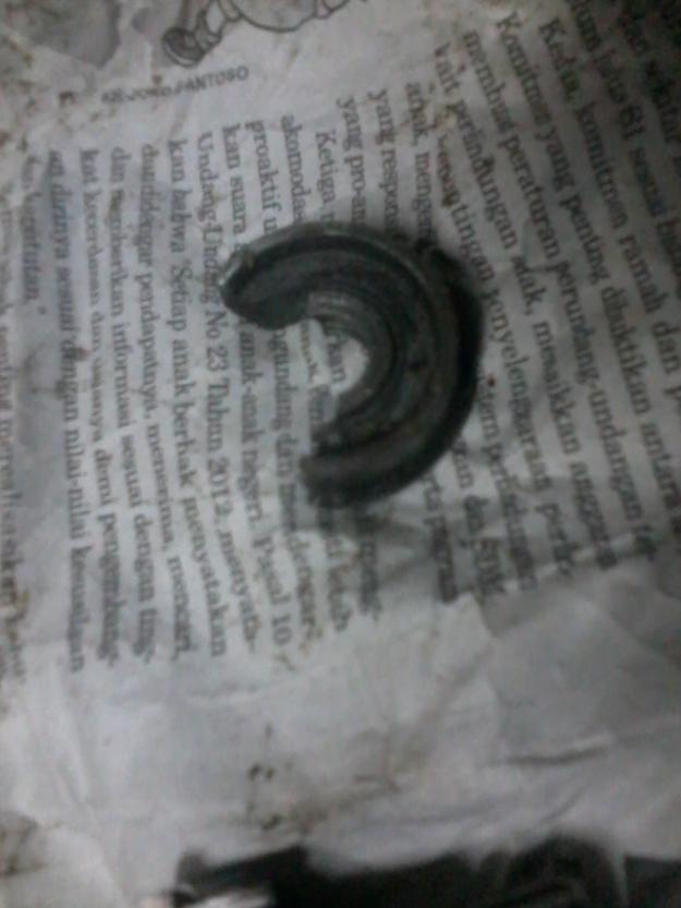 gir penggerak pecah...dari alumunium sih