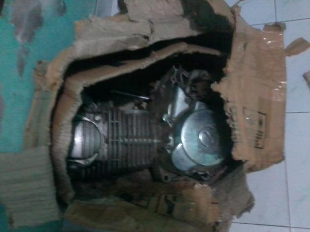 mesin gl max dengan blok kop MP yang ditambah paking