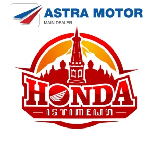 Astra Motor mengubah Logo menjadi pesawat dan untuk astra jogja memakai simbol honda istimewa