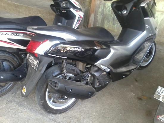 N max...scooter yamaha kapasitas 150cc