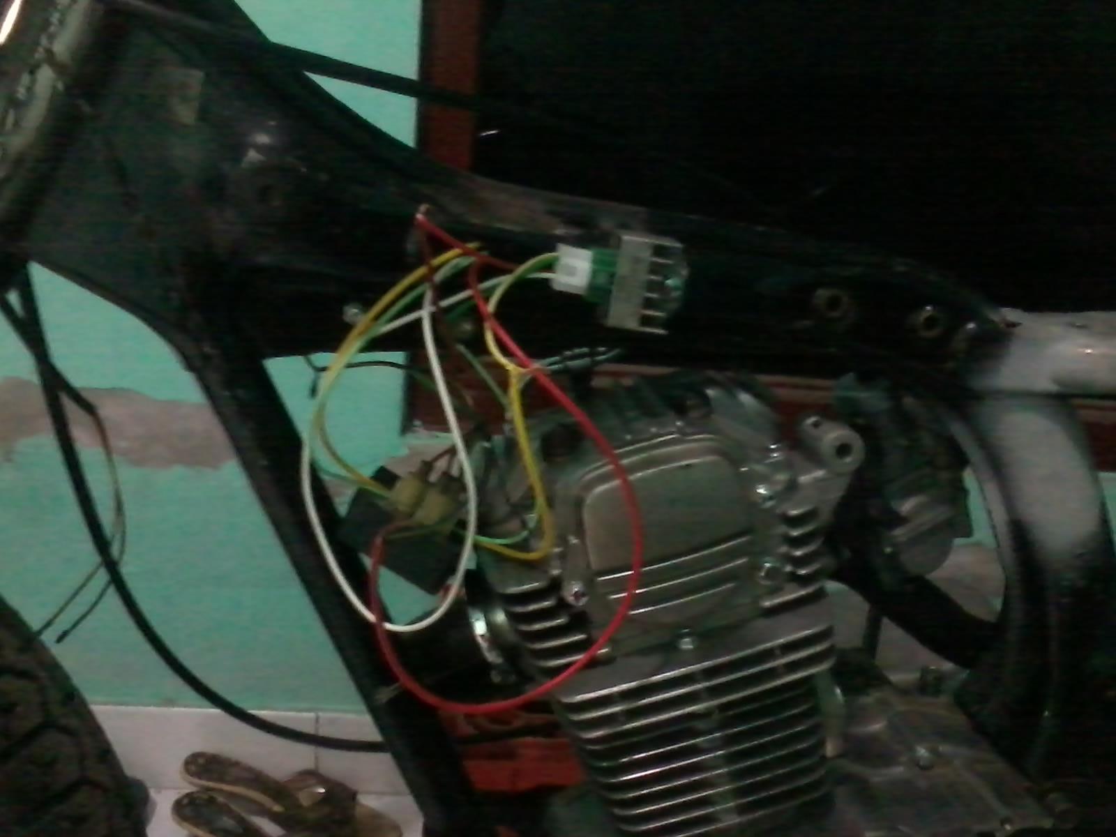 Wiring Diagram Kelistrikan Honda Gl 100 Library C65clymer Electrical Kabel Spull Dan Kiprok Disambungtidak Pakai Aki Tidak Apa2
