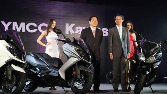 Launching Kymco-kawasaki