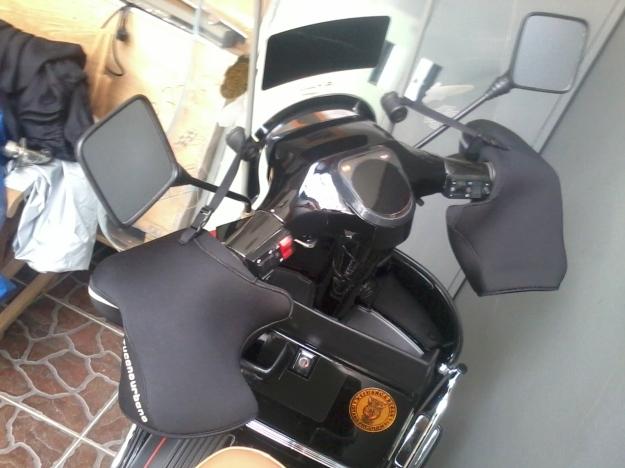 Scooter dengan aksesoris import dari jerman
